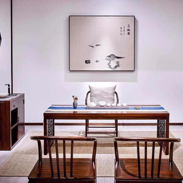 新中式书房茶台