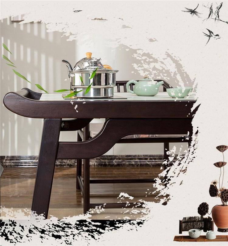 2新中式书房茶台
