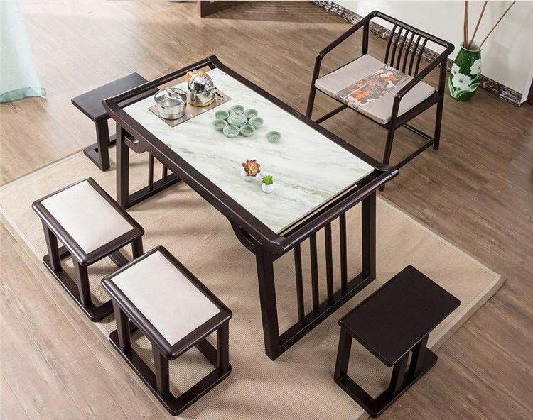 5新中式书房茶台