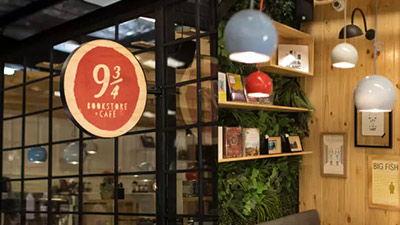 青岛云飞扬软装设计温馨儿童书店与咖啡厅的商业空间结合设计