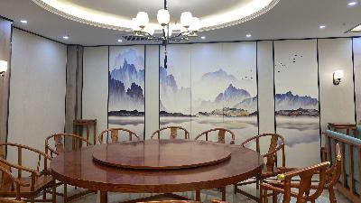 【餐饮案例】中式餐厅室内软装设计,骨子里的东方文化韵律